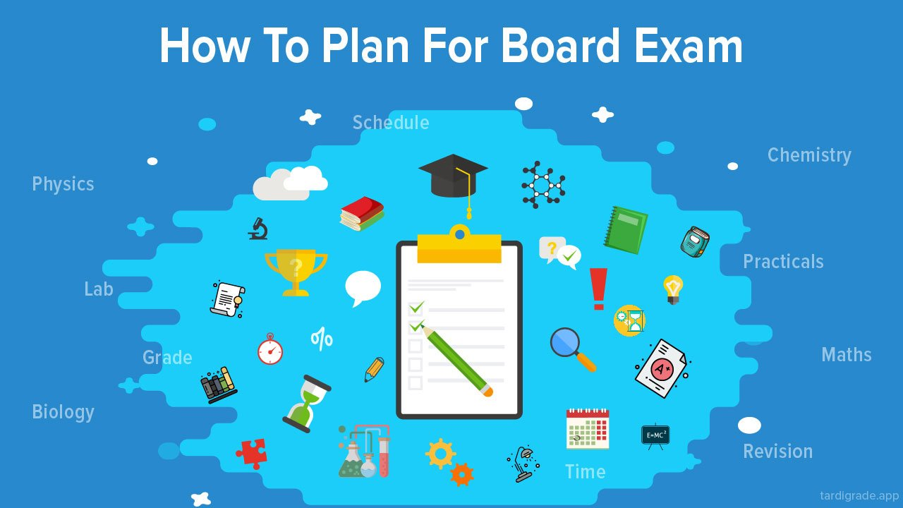 How to plan for Board Exam?