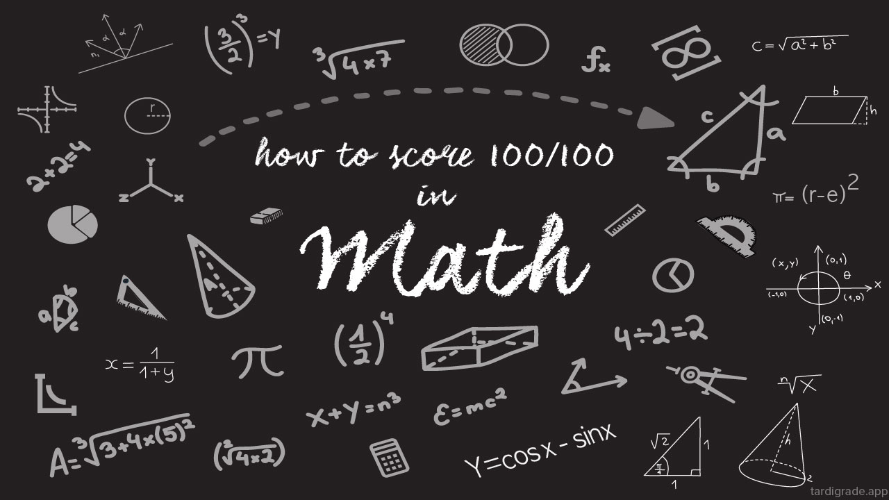 How to score 100/100 in Maths (PCB) in Class 11th and 12th CBSE Board