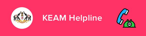KEAM Helpline & Contact Details 2020