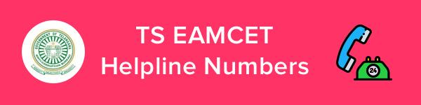 TS EAMCET Helpline & Contact Details 2020