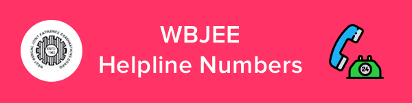 WBJEE Helpline & Contact Details 2020