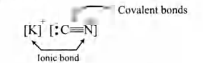The compound which contains both ionic and covalent bonds is